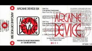 Arcane Device - Live At The Clocktower, New York City (27 April 89) - part 2