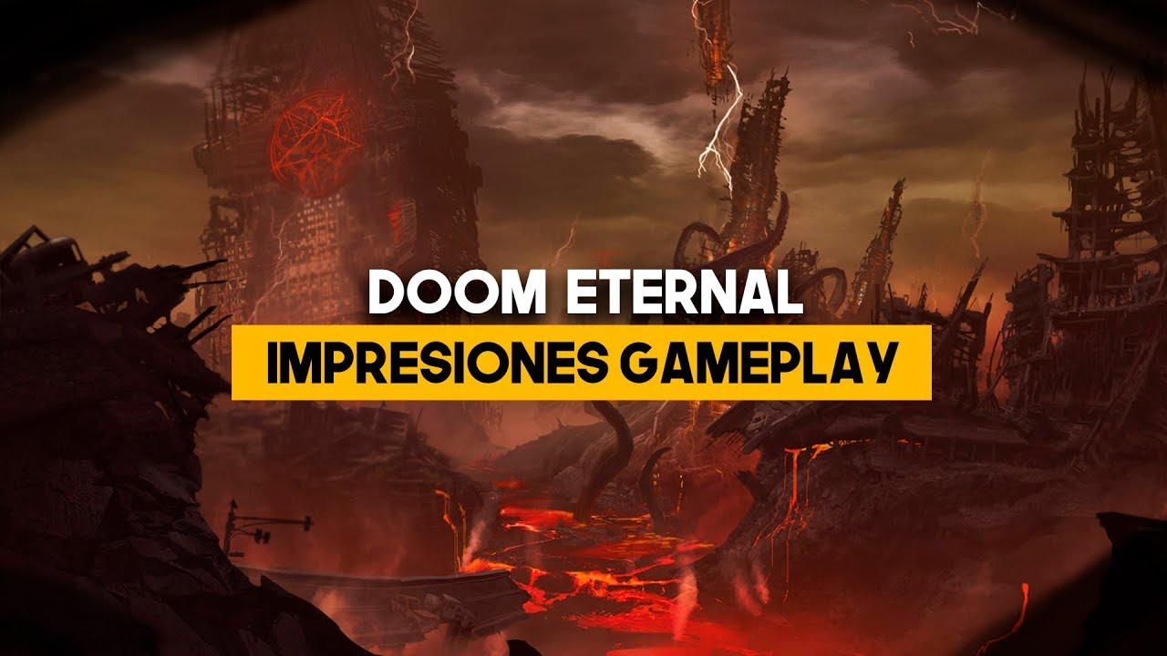 DOOM Eternal: las CLAVES de su PRIMER GAMEPLAY