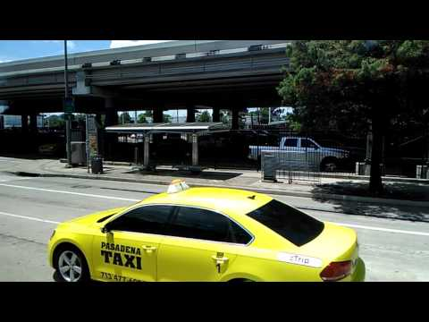 Houston, Texas Greyhound Bus Station | Driving Downtown Head