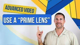 Video Blogging Tips → Use A Prime Lens With DSLR Camera