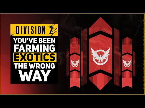NEW BEST WAY TO FARM EXOTICS IN DIVISION 2