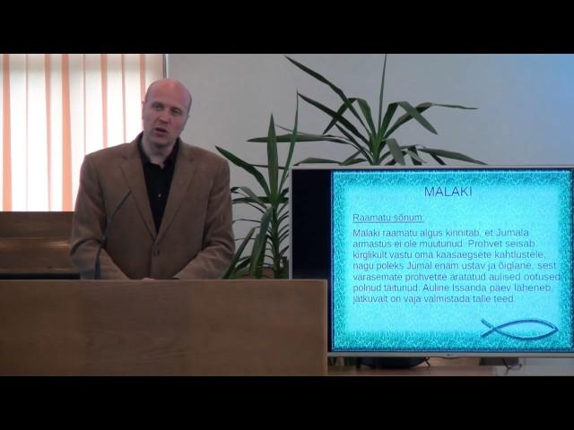 12. loeng – Malaki raamat