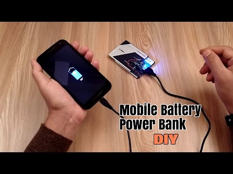 Thumbnail: How to Make a Power Bank using old Mobile Phone Battery's - Homemade
