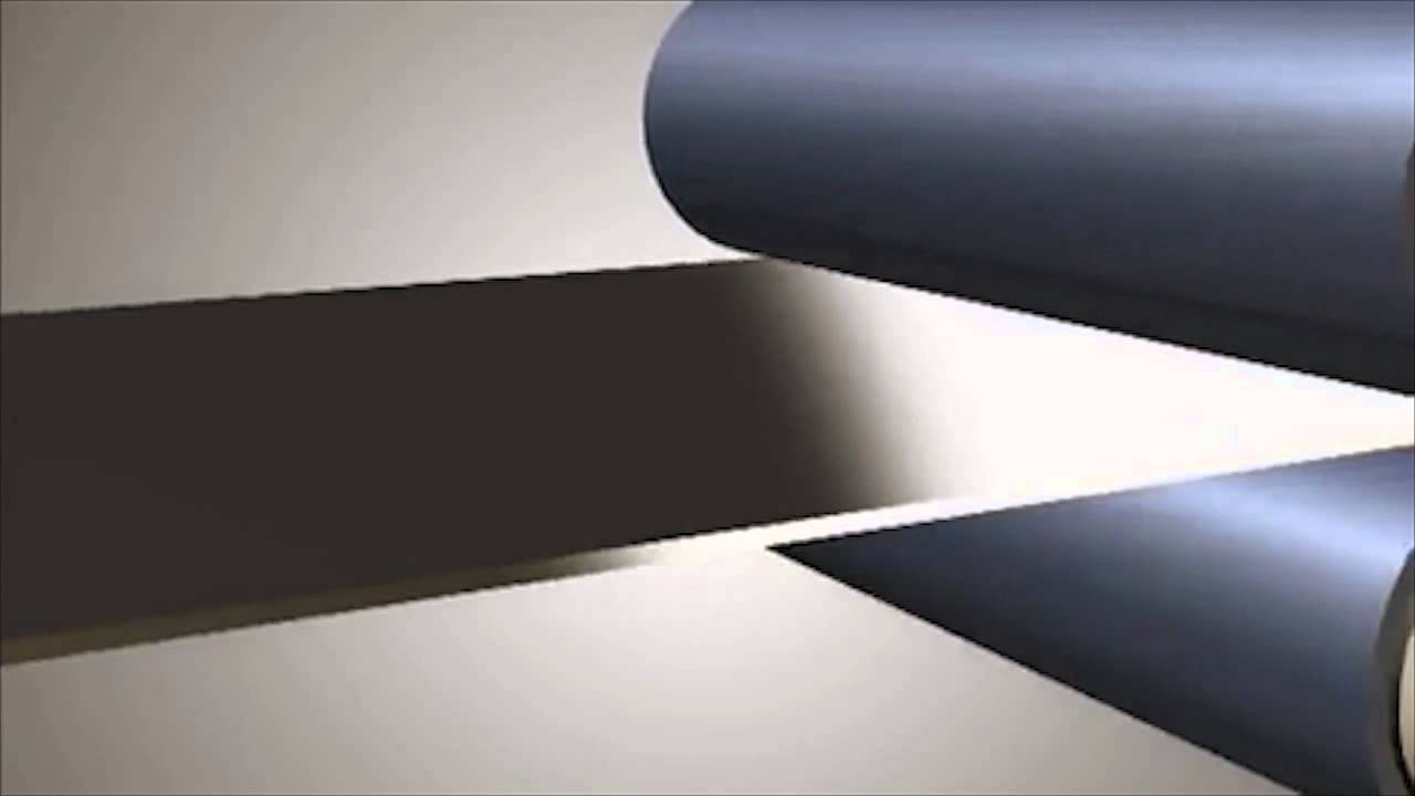 Metal Business Cards Chemically Etch Process - YouTube