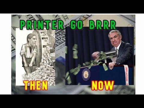 Money Printer Go BRRR [ Then vs Now ]