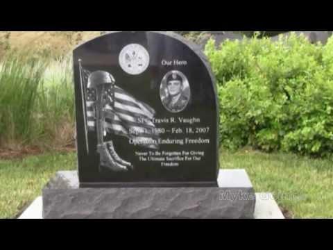 2013-06-29 SPC Travis Vaughn Memorial Placement - Cedar Falls, Iowa - Myke Goings - KMDG
