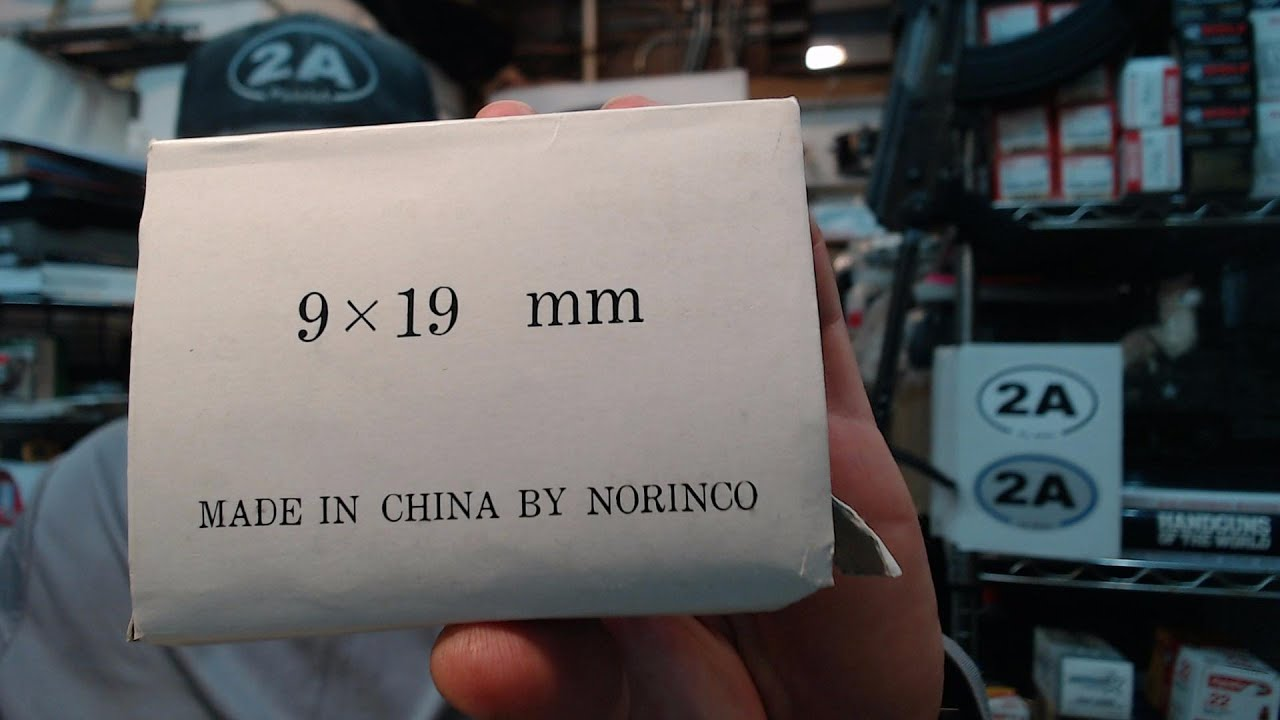 Why Ammo Shortage 2020 Started In 1994 : Chinese Norinco 9mm Unboxing