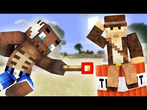 SPRINGER COMKEAN I LUFTEN?! - Dansk Minecraft: TNT Kamp