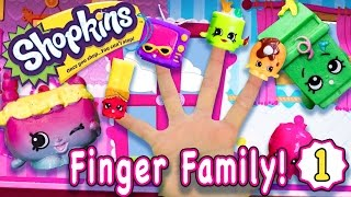 Finger Family Song | Shopkins #1 | Nursery Rhymes