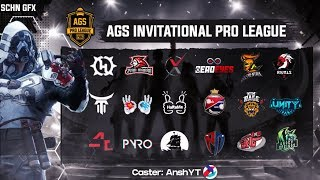 AGS INVITATIONAL PRO LEAGUE | WEEK 3 DAY 1 | 2M DELAY
