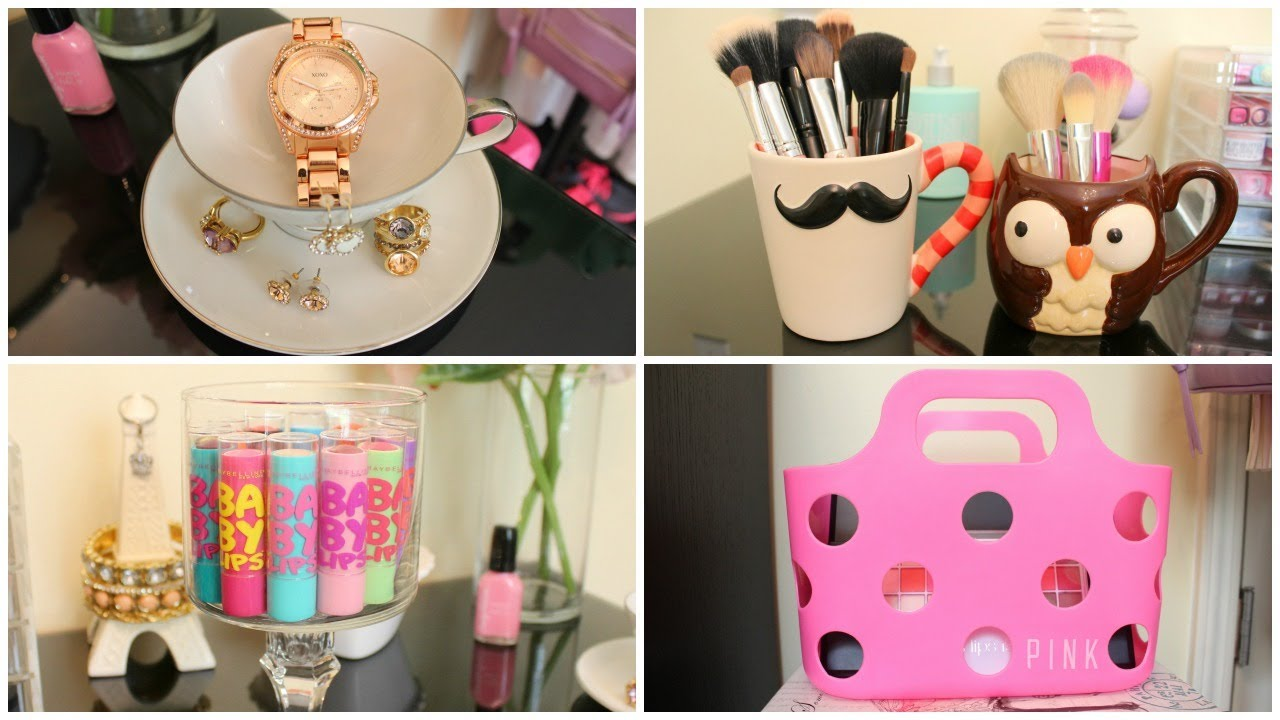 Storage U0026 Organization Ideas + DIY Room Decor   YouTube
