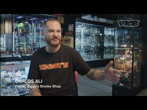 Vice : Glass Bong Industry Is Set To Explode With Legal Weed - Ziggy's Smoke Shop