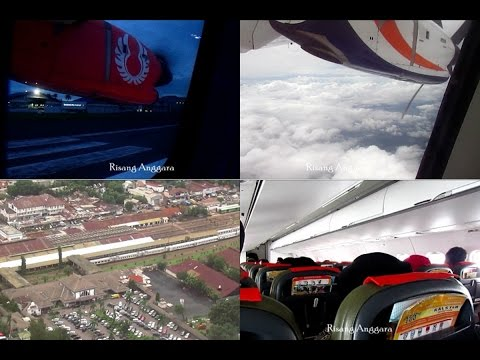 A Trip with Wings Air and Kalstar Aviation from Bandung to Semarang