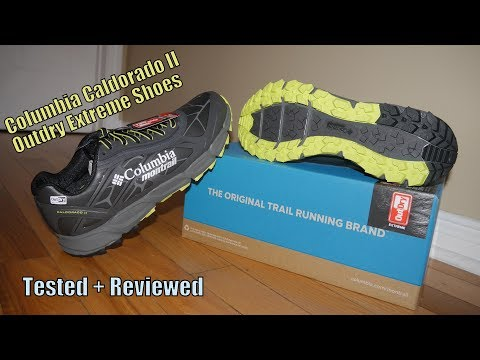 7713a3fdb8230 Columbia Caldorado II Trail Shoes Tested + Reviewed - YouTube