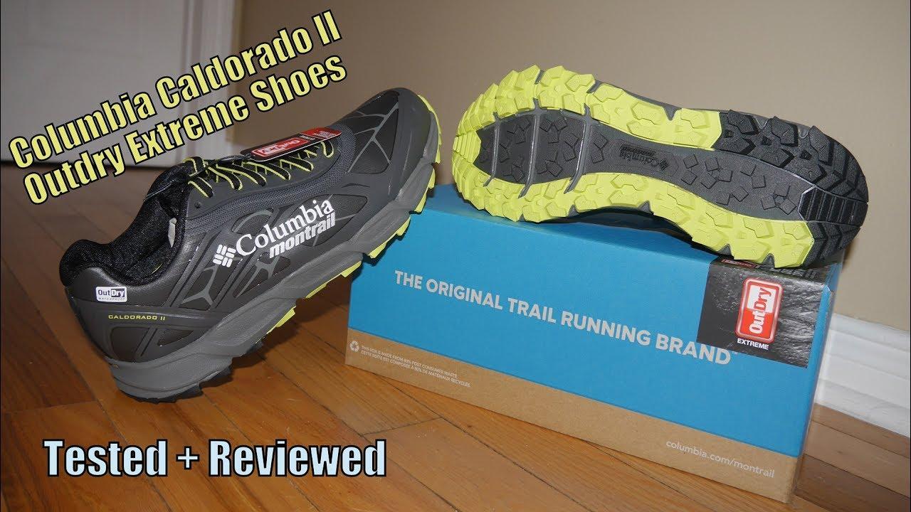 Columbia Caldorado II Trail Shoes