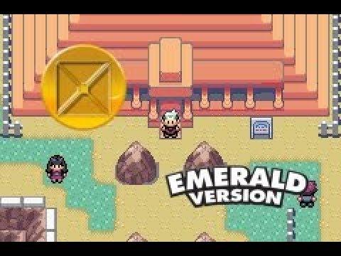 Pokemon Emerald : Battle Frontier - Battle Pyramid Vs Brandon (gold Symbol)
