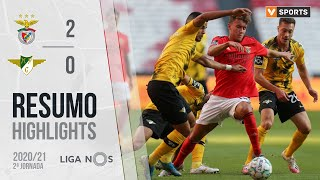 Highlights   Resumo: Benfica 2-0 Moreirense (Liga 20/21 #2)