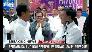 Simak! Pernyataan Lengkap Jokowi dan Prabowo Saat Bertemu di Stasiun MRT