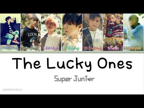 Super Junior 슈퍼주니어- The Lucky Ones [Color Coded Lyrics Han/Rom/Eng]