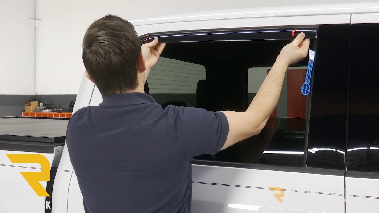 Avs Vent Shades >> How To Install Avs In Channel Vent Visors On A 2017 Ford F 150