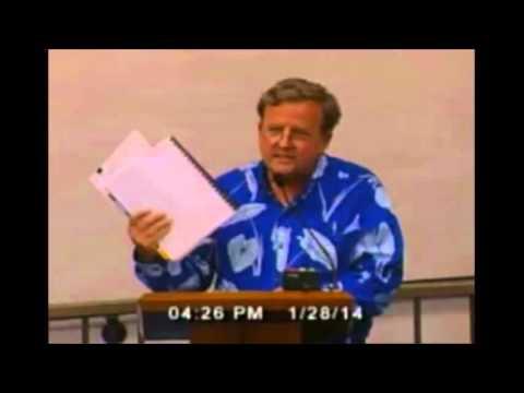 Gary Hooser Testifies on Maui Pesticide Bill