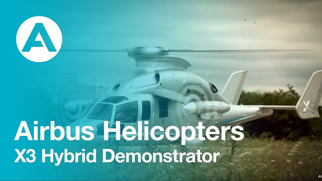 Eurocopter X3: The world's fastest copter