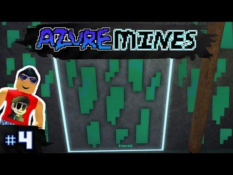Azure Mines Ep. 4: EMERALDS EVERYWHERE!! | Roblox