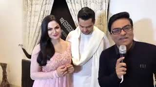 Veena Malik and Asad Khattak interview by Dr Ejaz Waris