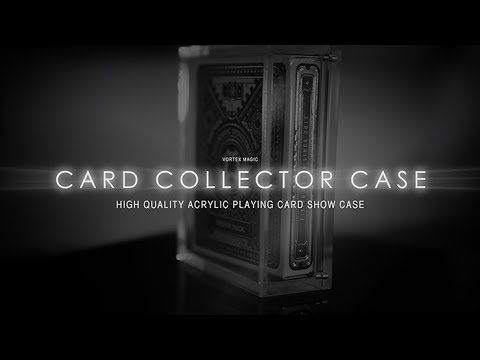 THE CARD COLLECTOR CASE presented by Vortex Magic
