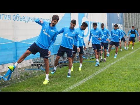 «Динамо» — «Зенит»: открытая тренировка перед матчем