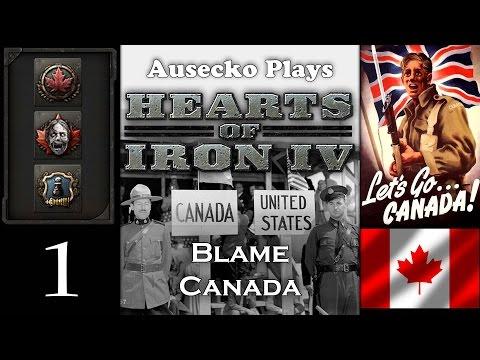 HoI IV Blame Canada 1 [1812 Brains Rule Britannia All Over Again]