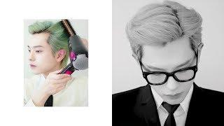 롤빗, 왁스로 '포마드 머리' 하는 방법! How to make 'POMADE Hair' Self Tutorial | Joseph 죠셉