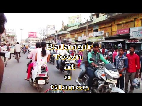 Balangir Town Main Road (Saturday Market) | May 2017