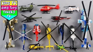 Helicopters Video For Kids Children Babies Toddlers | Vehicles For Kids | Helico