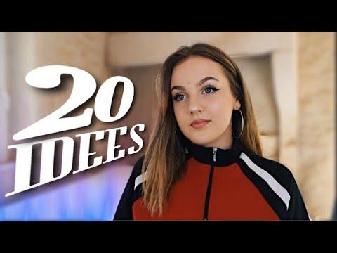 20 IDÉES DE VIDÉOS YOUTUBE