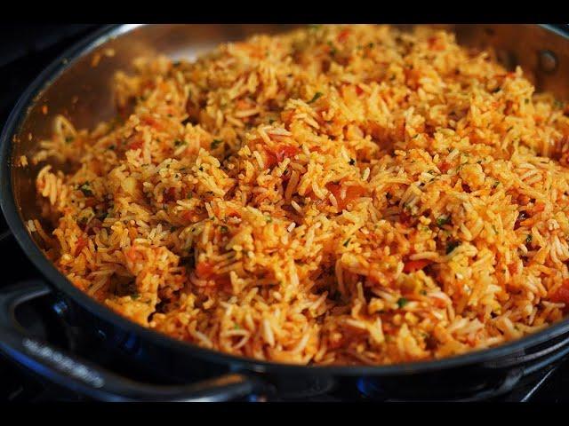 Festive Tomato Rice #TastyTuesdays | CaribbeanPot.com