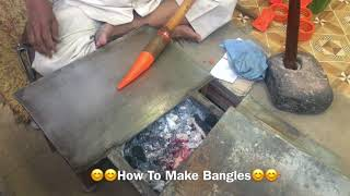 Making of colorful lac bangles | India's famous Lac Bangles | How lac bangles are made | Dominar400