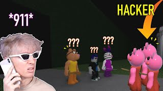 HACKERS IN ROBLOX PIĠGY - Funny Moments (PART 29)