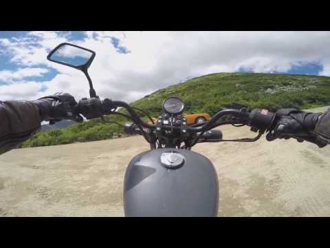 Riding A Motorcycle Up The Mount Washington Auto Road
