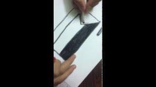 How to draw Palestine flag