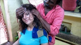 Download World's Greatest Head Massage 19 : Eliana (ASMR Barber) meets Baba, the cosmic Barber Mp3 and Videos