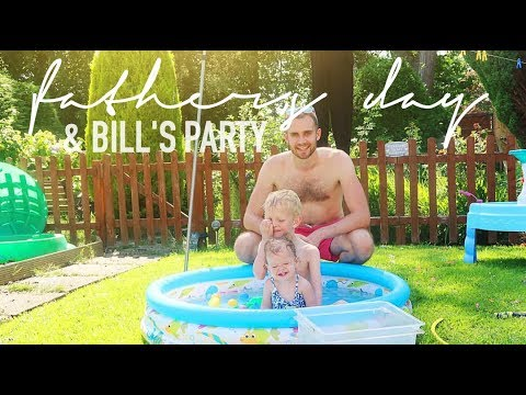 FATHER'S DAY 2017, BILL'S BIRTHDAY & A WEEKEND VLOG - DAY IN THE LIFE OF A MUM