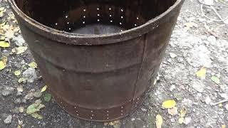 бочка для сжигания веток и листьев