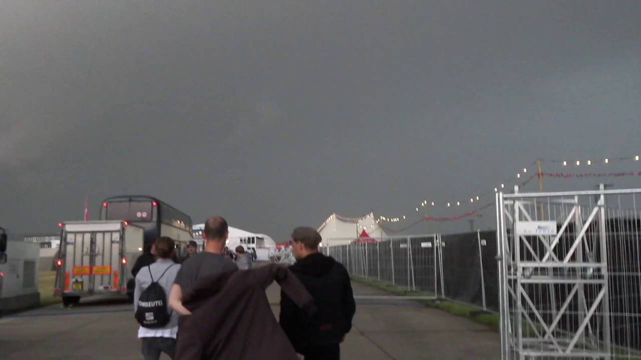Unwetter Bei Rock Am Ring 2016 Youtube