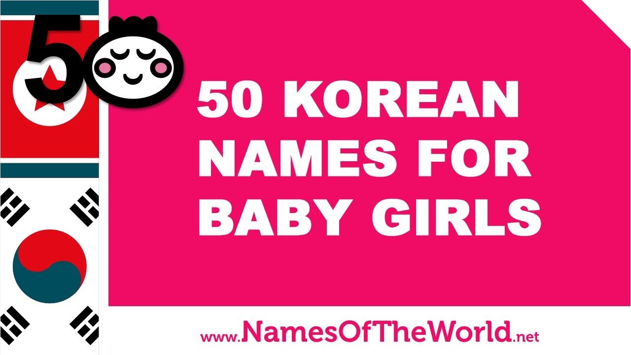 how to choose a korean name