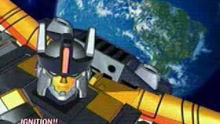 Korean Transformers Galaxy Force (Cybertron) Opening