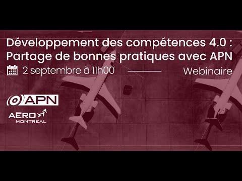 Webinaire : Développement des compétences 4.0 : Partage de bonnes pratiques avec APN