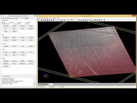 4) Carlson Point Cloud - Volumes, Cut/Fill Map and CAD Export