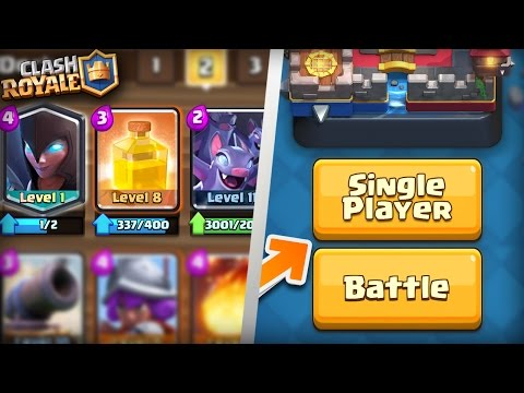 SINGLE PLAYER GAME MODE COMING SOON?! + WHERE ARE THE NEW CARDS!? New Clash Royale Update Confirmed!