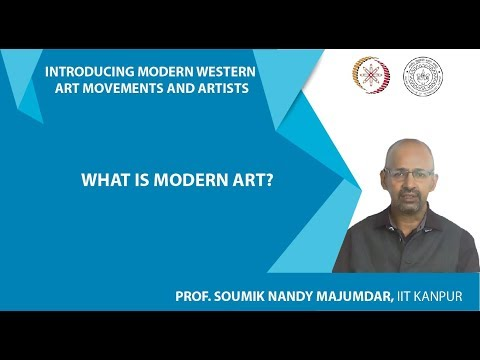 Lecture-1: What is Modern Art?